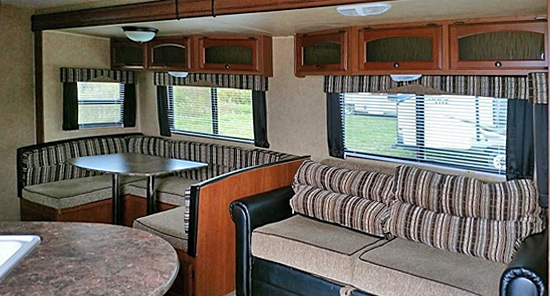 Rental Trailer 2, Dutchman Interior